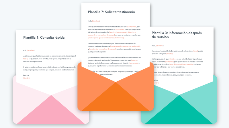 Descarga estas plantillas gratuitas y descubre cómo crear emails para ventas y marketing en una startup
