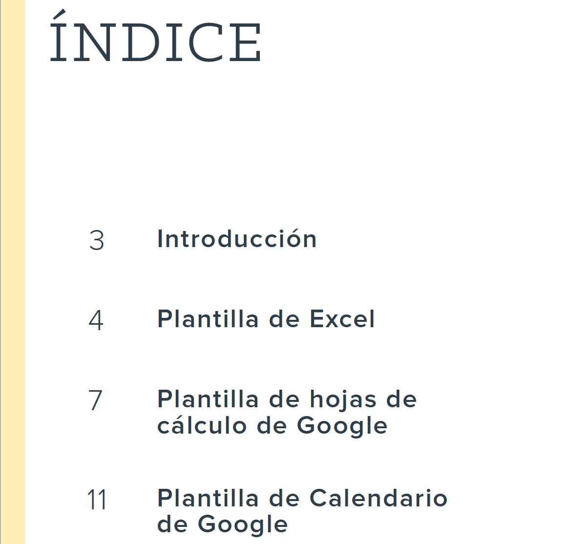 Descarga el ebook para aprender a crear un calendario editorial para ...