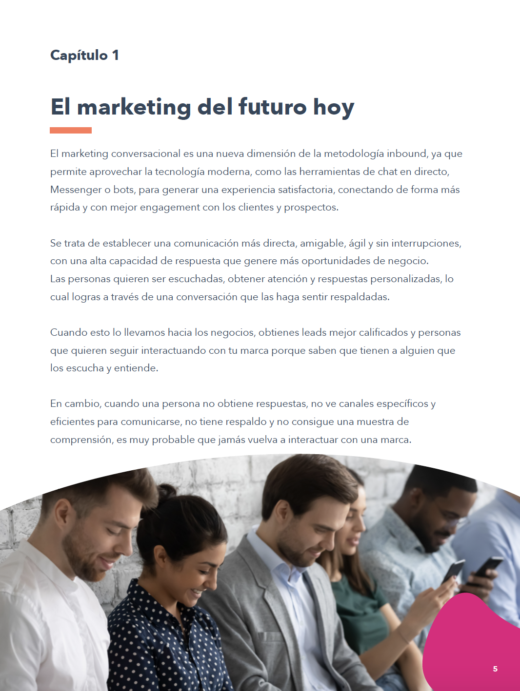 Cómo crear estrategias de marketing conversacional