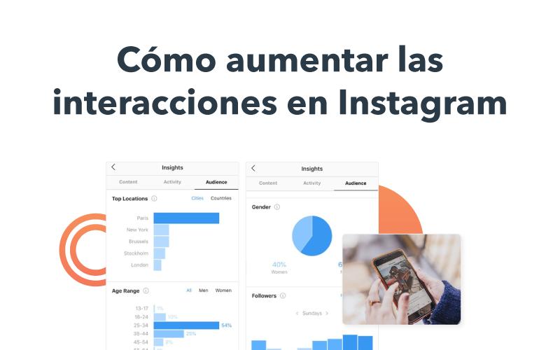 interacciones en instagram