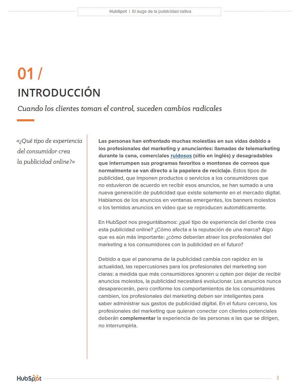 Informe sobre los anuncios en Latinoamérica