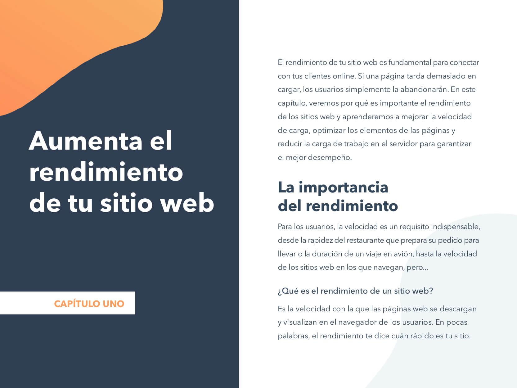 Cómo optimizar el rendimiento de tu sitio web para aumentar el tráfico y los leads ch1