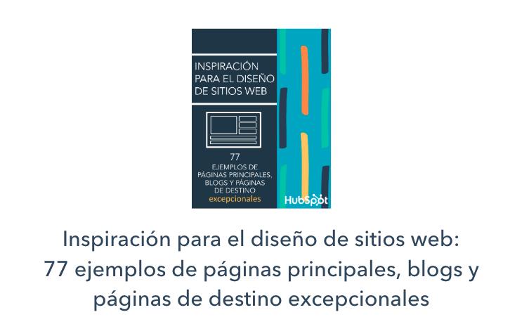 Diseño sitios web inspiración