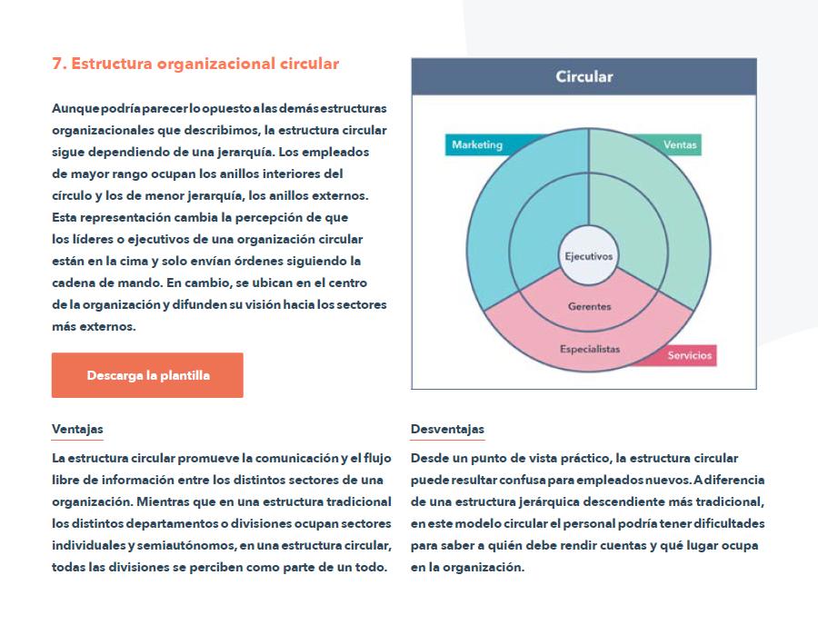 Estructuras organizacionales - ebook 5
