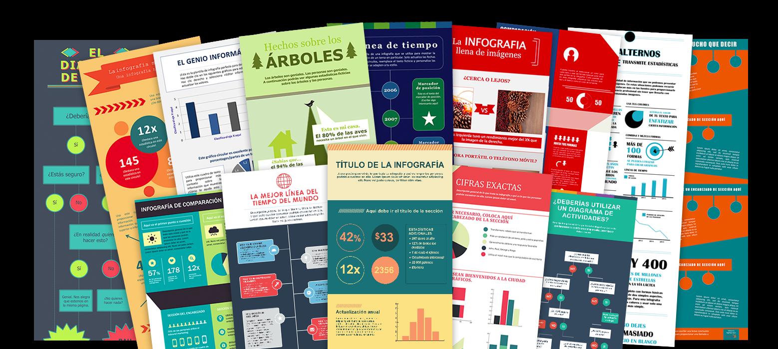 15 plantillas para hacer infografías en powerpoint