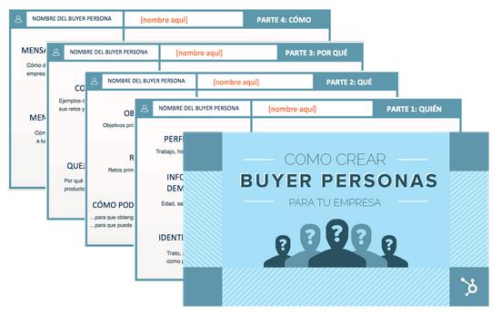 Plantillas Gratis para crear Buyer Personas