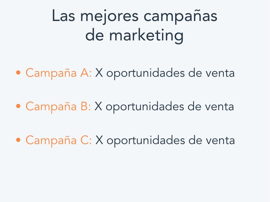 Cómo hacer un informe de marketing