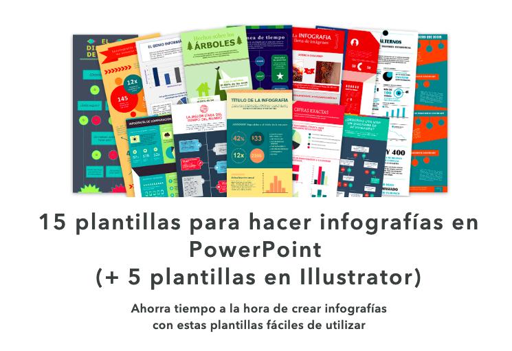 15 plantillas para infografías en powerpoint