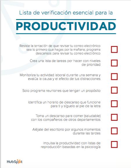 Como ser mas productivo 5