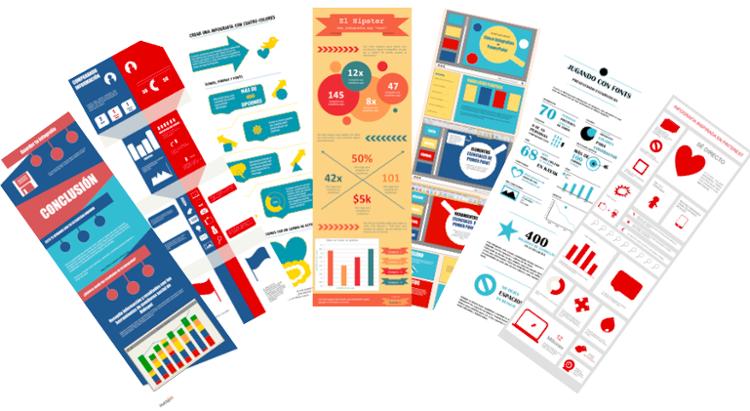 7 plantillas gratis para hacer infografía